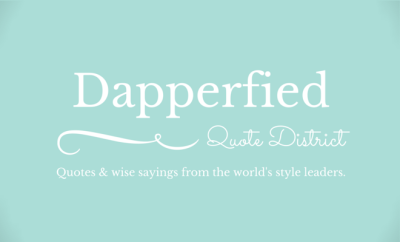 Dapperfied Quote District 1