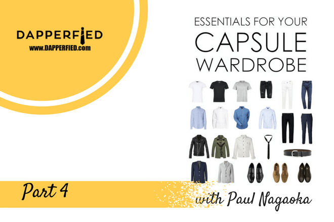 How to Build a Men's Capsule Wardrobe: Part 4 (Jackets)