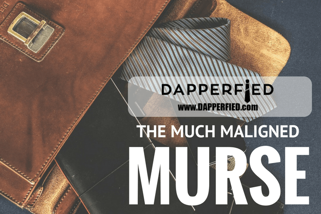 The Much Maligned Murse