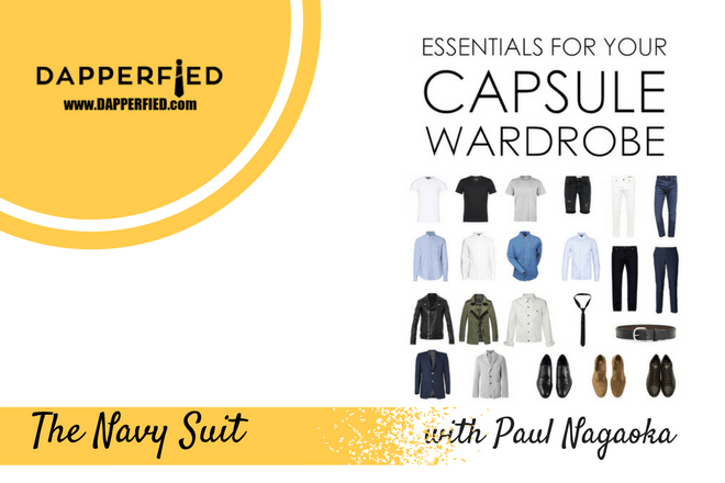 Timeless Wardrobe Essentials: The Navy Suit.